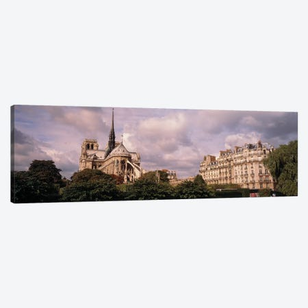 France, Paris, Notre Dame Canvas Print #PIM15326} by Panoramic Images Canvas Wall Art