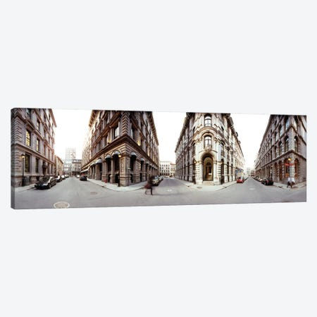 360 degree view of a city, Montreal, Quebec, Canada Canvas Print #PIM15340} by Panoramic Images Canvas Print