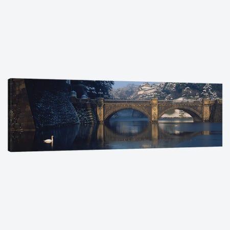Bridge Nijubashi Tokyo Japan Canvas Print #PIM15393} by Panoramic Images Canvas Art