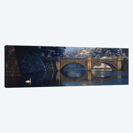 Bridge Nijubashi Tokyo Japan Canvas Print #PIM15393} by Panoramic Images Canvas Art