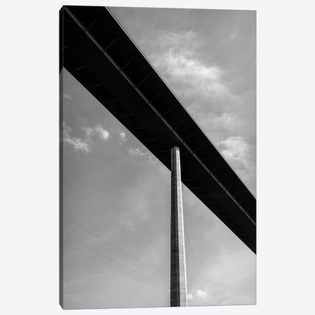 Bridge pillar supporting bridge, Freeway Bridge  near Horb am Neckar, Baden Wurttemberg, Germany Canvas Print #PIM15394} by Panoramic Images Canvas Art Print