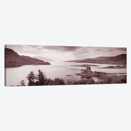 Eilean Donan Castle on Loch Alsh & Duich Scotland Canvas Print #PIM1539} by Panoramic Images Canvas Art Print