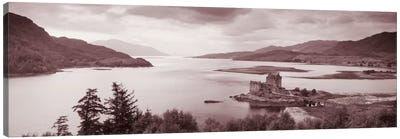 Eilean Donan Castle on Loch Alsh & Duich Scotland Canvas Art Print