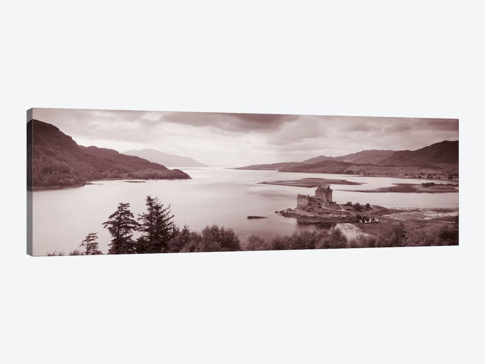 Eilean Donan Castle on Loch Alsh & Duich Scotland by Panoramic Images 1-piece Canvas Wall Art