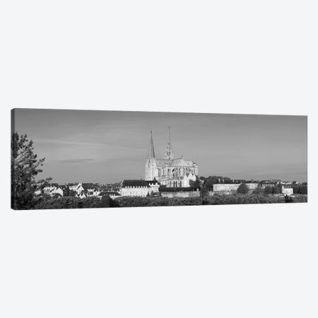 Chartres Cathedral, Chartres, Eure-et-Loir, France Canvas Print #PIM15404} by Panoramic Images Canvas Print