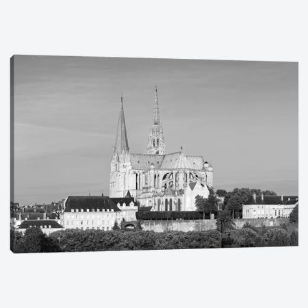 Chartres Cathedral, Chartres, Eure-et-Loir, France Canvas Print #PIM15405} by Panoramic Images Art Print