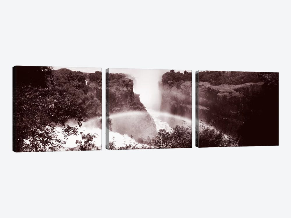 Victoria Falls Zimbabwe Africa by Panoramic Images 3-piece Art Print