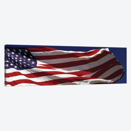Close-up of an American flag, USA Canvas Print #PIM15427} by Panoramic Images Art Print