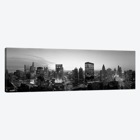 Chicago, Illinois, USA Canvas Print #PIM1542} by Panoramic Images Canvas Art