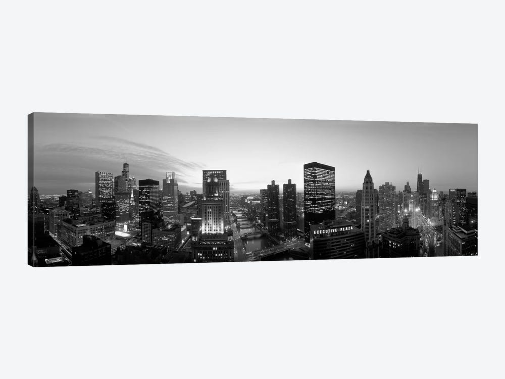 Chicago, Illinois, USA by Panoramic Images 1-piece Canvas Wall Art