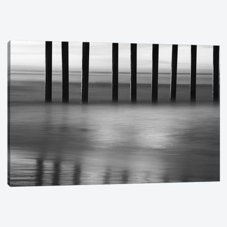 Close-up of water at Huntington Beach Pier, California, USA Canvas Print #PIM15447} by Panoramic Images Art Print