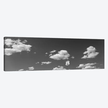 Clouds Route 66 Isleta NM USA Canvas Print #PIM15456} by Panoramic Images Canvas Wall Art