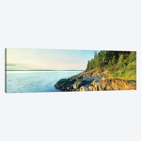Coastline, Acadia National Park, Maine, USA Canvas Print #PIM15458} by Panoramic Images Canvas Art Print