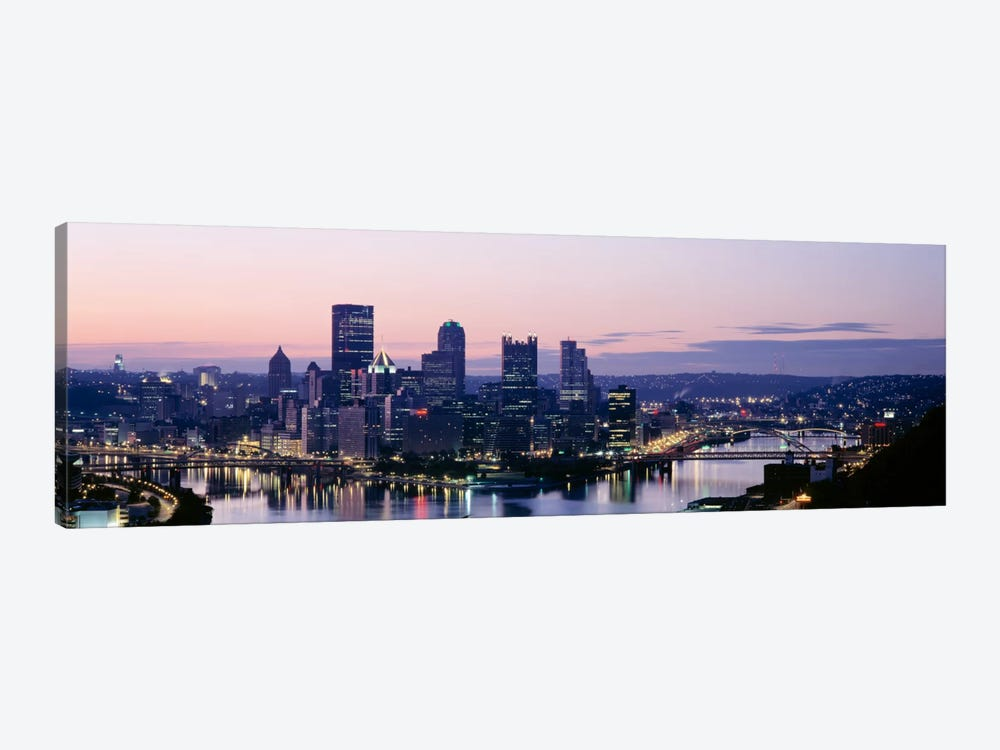 USA, Pennsylvania, Pittsburgh, Monongahela River by Panoramic Images 1-piece Canvas Art