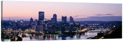 USA, Pennsylvania, Pittsburgh, Monongahela River Canvas Print #PIM1546