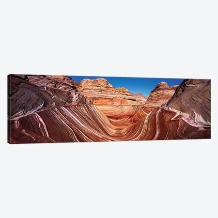 Eroded cliffs, Vermillion Cliffs, Vermilion Cliffs National Monument, Arizona, USA Canvas Print #PIM15473} by Panoramic Images Canvas Print