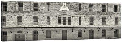 Facade of Pillsbury Building, Mill District, Upper Midwest, Minneapolis, Hennepin County, Minnesota, USA Canvas Art Print