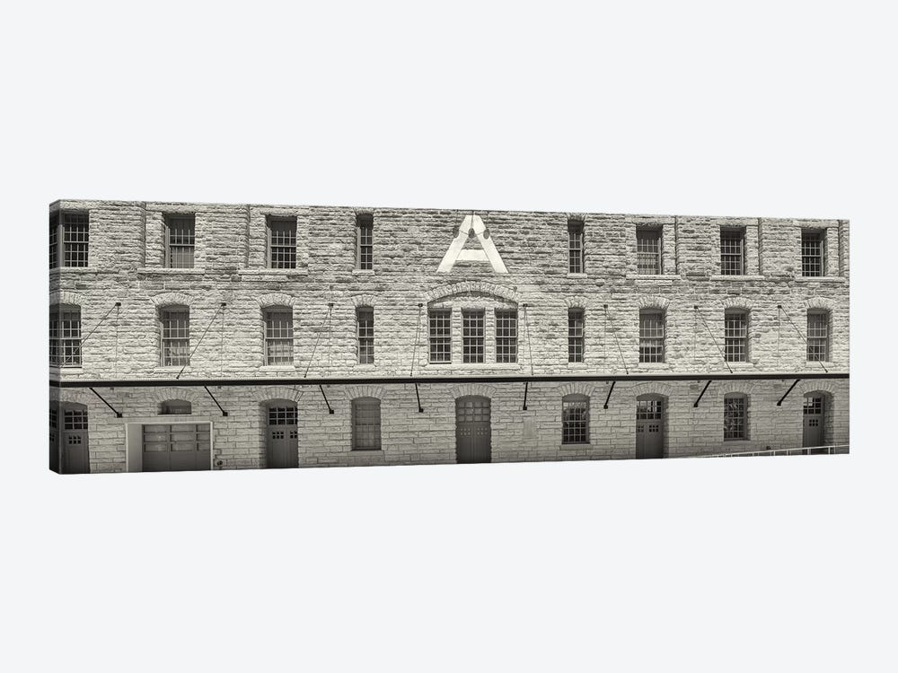 Facade of Pillsbury Building, Mill District, Upper Midwest, Minneapolis, Hennepin County, Minnesota, USA by Panoramic Images 1-piece Canvas Artwork