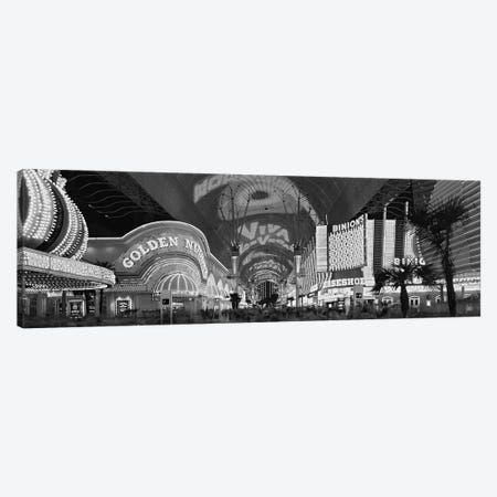 Fremont Street Experience, Las Vegas, Nevada, USA Canvas Print #PIM15493} by Panoramic Images Canvas Print