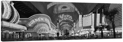 Fremont Street Experience, Las Vegas, Nevada, USA Canvas Art Print
