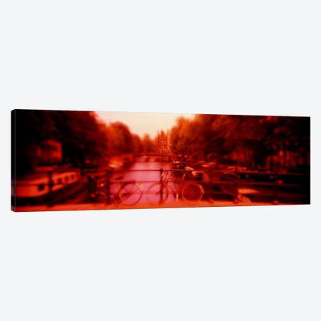 Hallucinogenic View, Amsterdam, Netherlands Canvas Print #PIM1549} by Panoramic Images Canvas Art