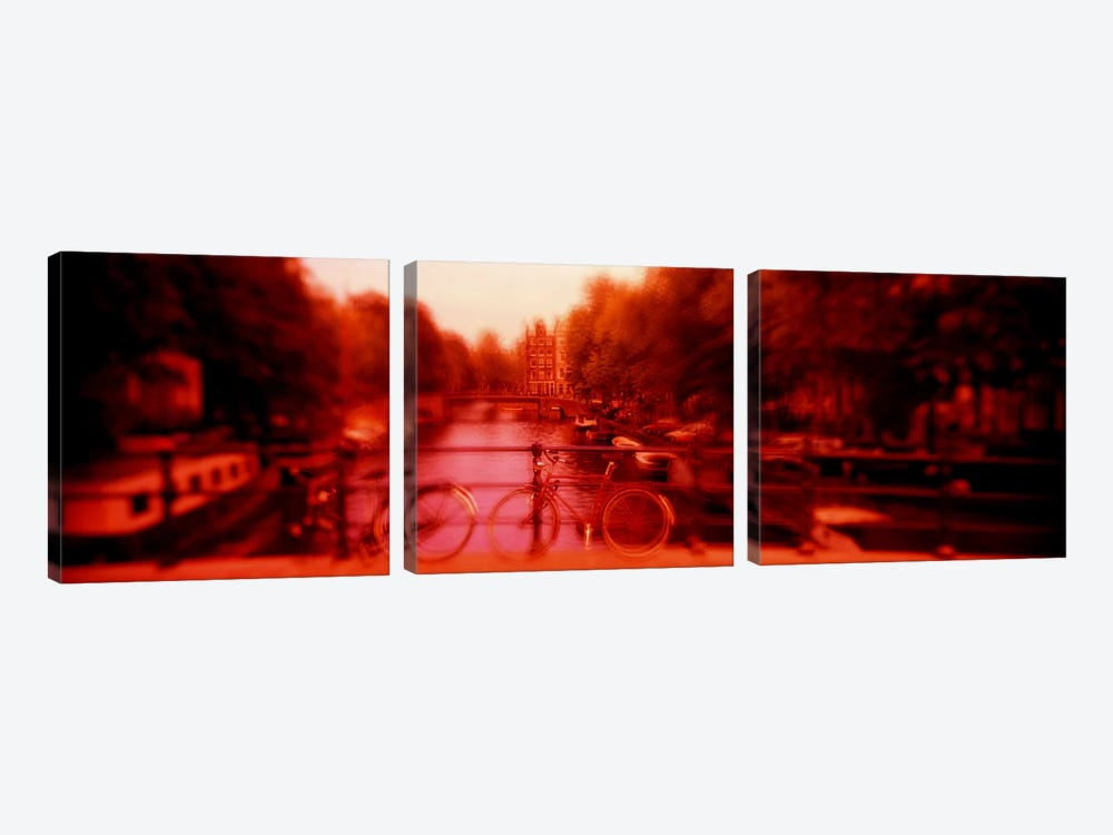 Hallucinogenic View, Amsterdam, Netherlands by Panoramic Images 3-piece Canvas Print