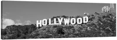 Hollywood Sign At Hollywood Hills, Los Angeles, California, USA Canvas Art Print
