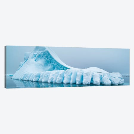 Icebergs floating in the Southern Ocean, Antarctic Peninsula, Antarctica Canvas Print #PIM15527} by Panoramic Images Canvas Art