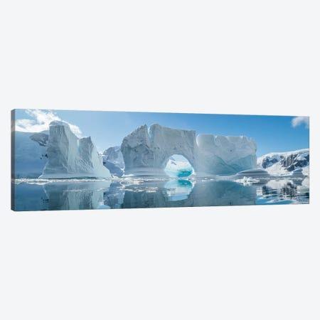 Icebergs floating in the Southern Ocean, Antarctic Peninsula, Antarctica Canvas Print #PIM15528} by Panoramic Images Art Print