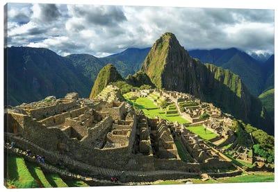 Inca City of Machu Picchu, Urubamba Province, Cusco, Peru Canvas Art Print