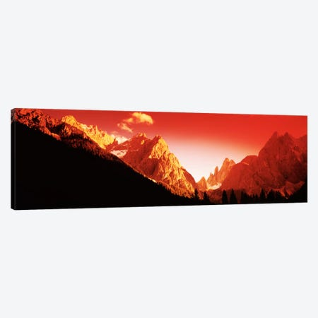Dolomites, Southern Limestone Alps, Italy Canvas Print #PIM1555} by Panoramic Images Canvas Art