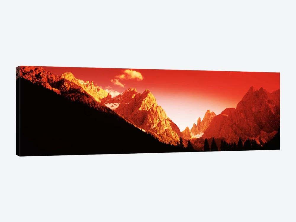 Dolomites, Southern Limestone Alps, Italy by Panoramic Images 1-piece Canvas Artwork