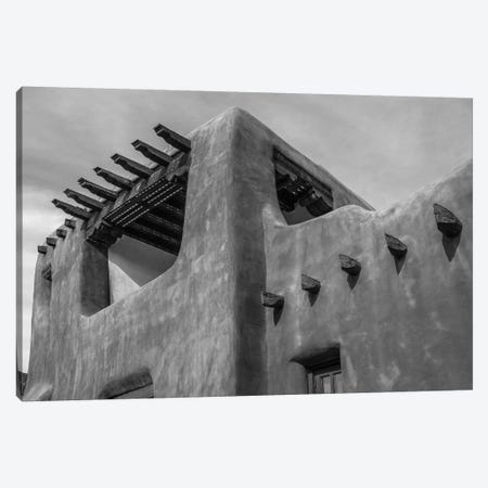 Low angle view of a museum, New Mexico Museum of Art, Santa Fe, New Mexico, USA Canvas Print #PIM15575} by Panoramic Images Canvas Art Print