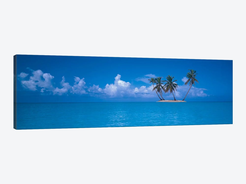 Tiny Uninhabited Island, Caribbean Sea by Panoramic Images 1-piece Canvas Artwork