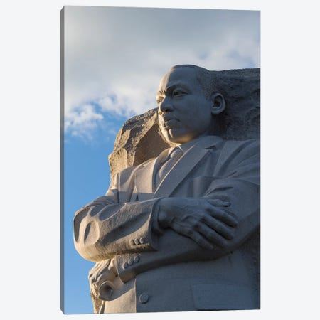 Martin Luther King Jr. Memorial is located in West Potomac Park, National Mall, Washington DC, USA Canvas Print #PIM15594} by Panoramic Images Canvas Print