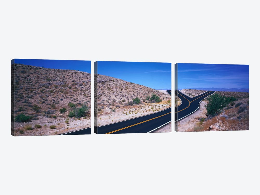 Fork In The Road by Panoramic Images 3-piece Canvas Art