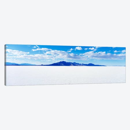 Bonneville Salt Flats, Tooele County, Utah, USA Canvas Print #PIM155} by Panoramic Images Canvas Art Print