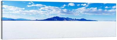 Bonneville Salt Flats, Tooele County, Utah, USA Canvas Art Print