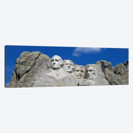Mount Rushmore, South Dakota, USA 3-Piece Canvas #PIM15601} by Panoramic Images Canvas Artwork