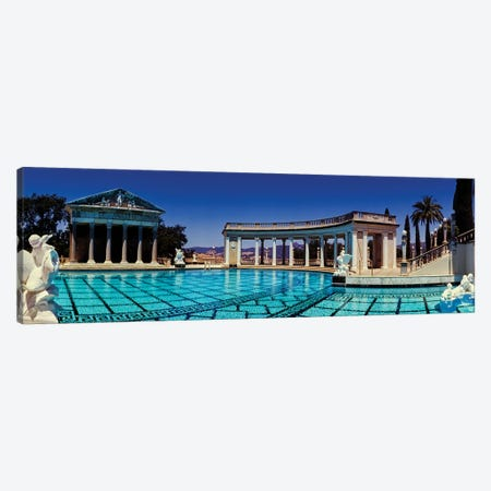 Neptune Pool at Hearst Castle, San Simeon, San Luis Obispo County, California, USA Canvas Print #PIM15609} by Panoramic Images Canvas Art