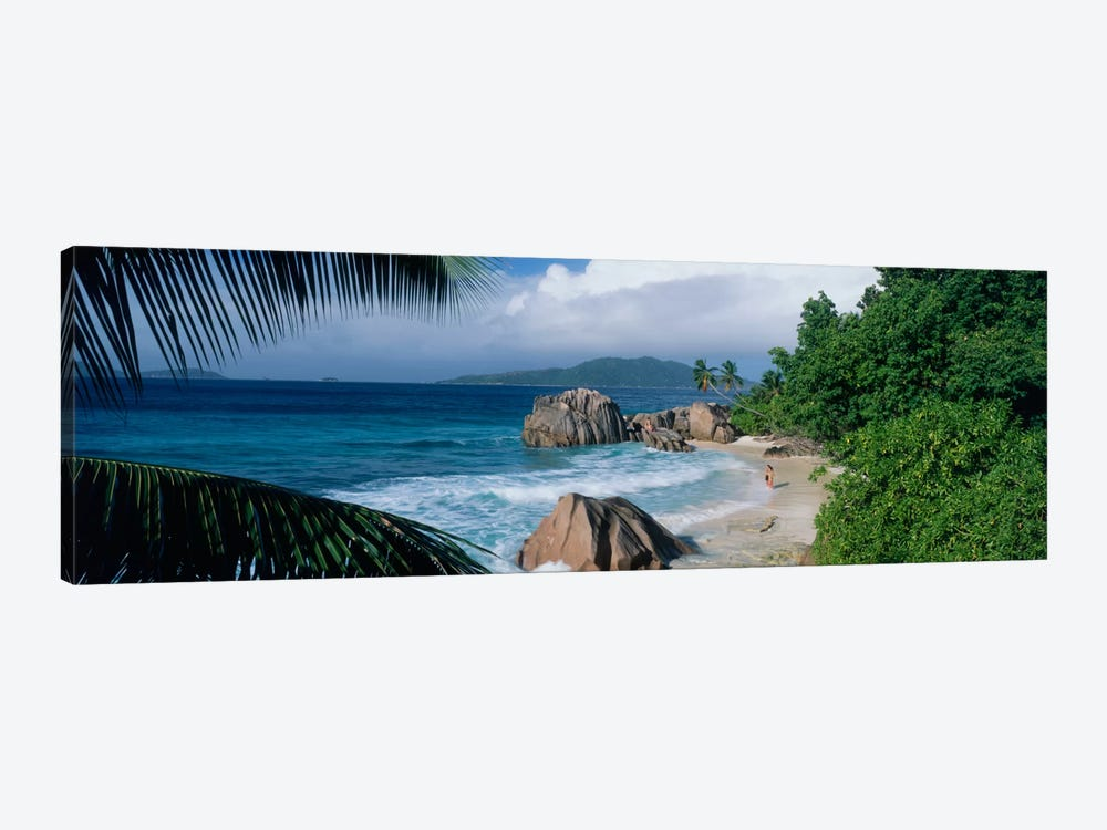 Indian Ocean La Digue Island Seychelles by Panoramic Images 1-piece Canvas Artwork