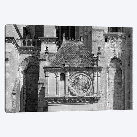 Pavillon de l'horloge, Chartres Cathedral, Chartres, Eure-et-Loir, France Canvas Print #PIM15633} by Panoramic Images Canvas Art Print