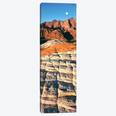 Petrified dunes, Snow Canyon State Park, Utah, USA 3-Piece Canvas #PIM15636} by Panoramic Images Canvas Art