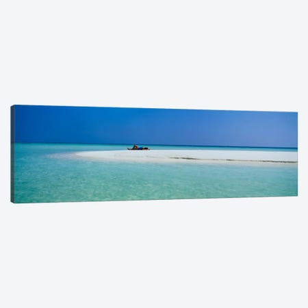 Indian Ocean Maldives Canvas Print #PIM1563} by Panoramic Images Canvas Art