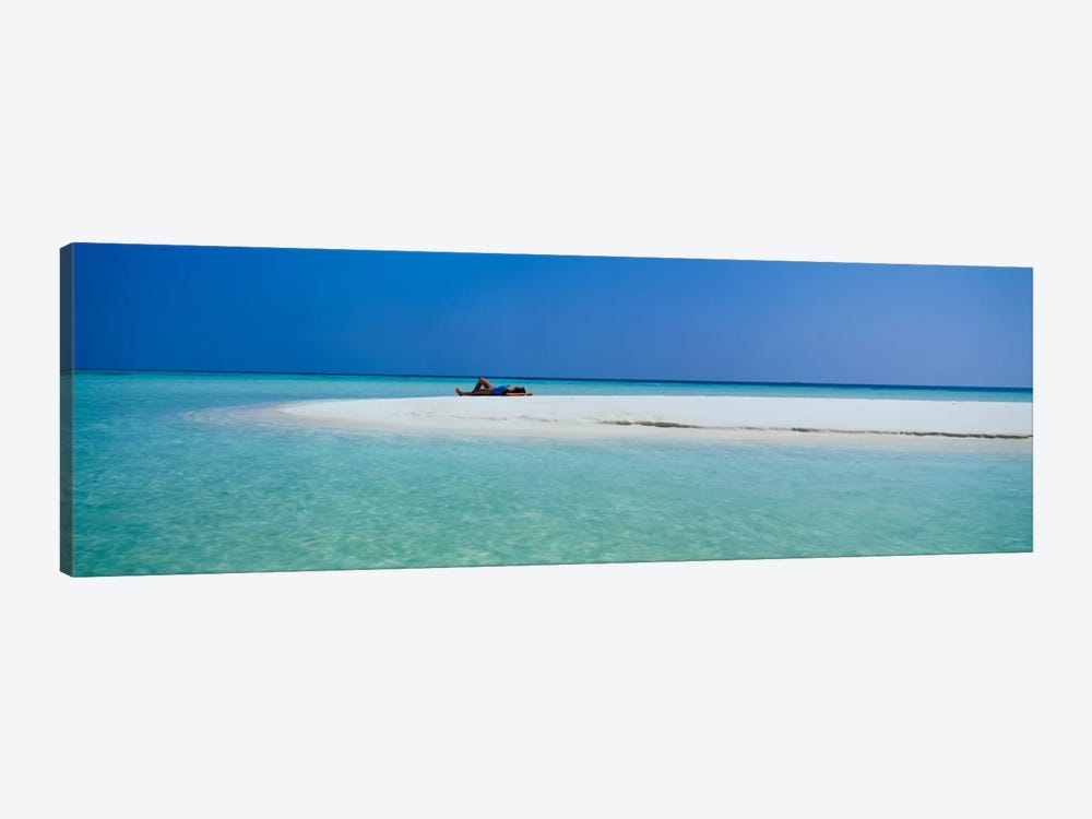 Indian Ocean Maldives by Panoramic Images 1-piece Canvas Art Print