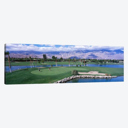 Golf CoursePalm Springs, California, USA Canvas Print #PIM1565} by Panoramic Images Art Print