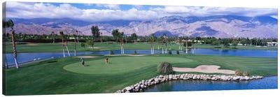 Golf CoursePalm Springs, California, USA Canvas Art Print