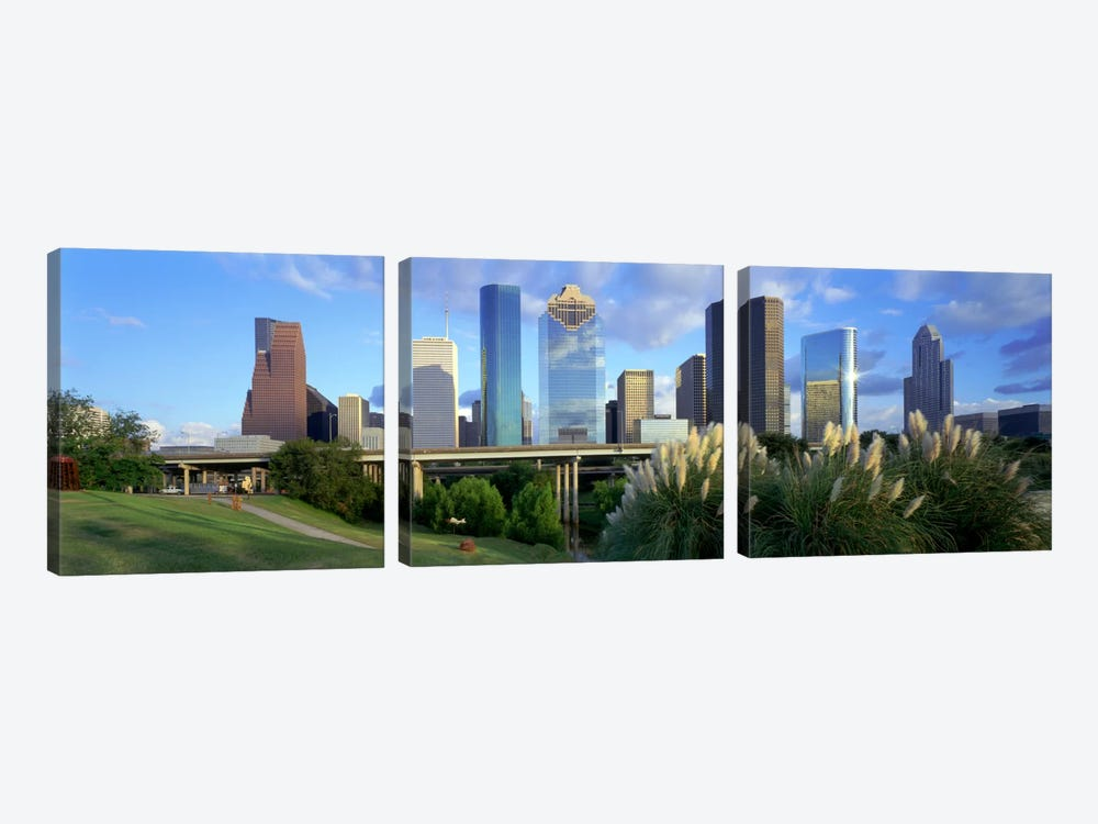 HoustonTexas, USA by Panoramic Images 3-piece Canvas Art
