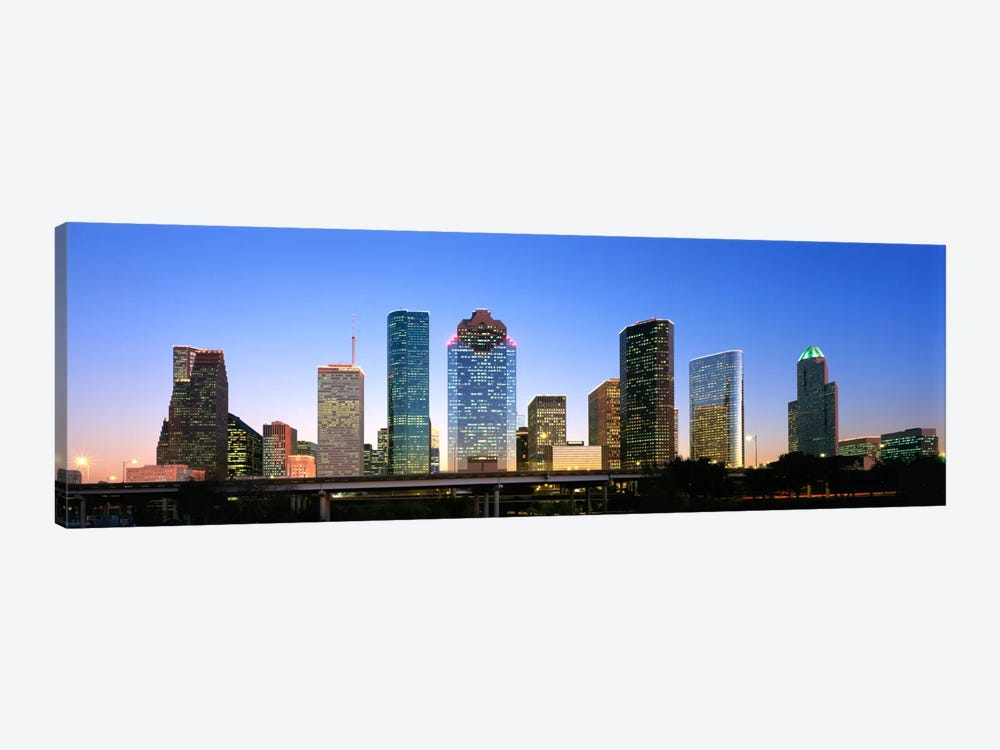 USA, Texas, Houston by Panoramic Images 1-piece Canvas Art Print
