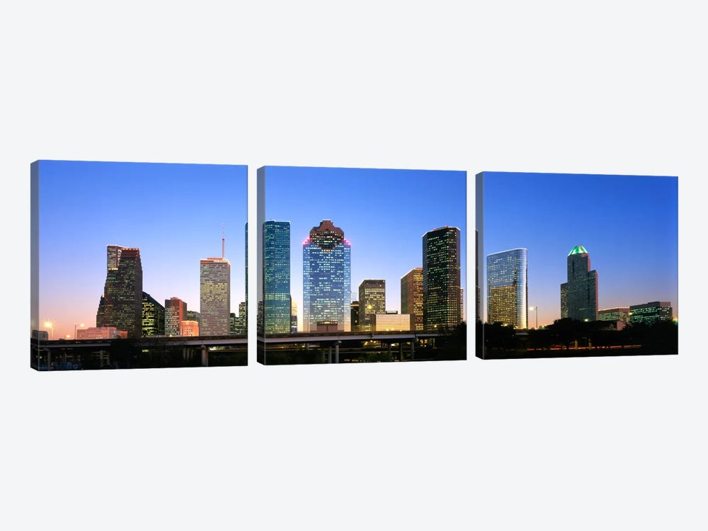 USA, Texas, Houston by Panoramic Images 3-piece Canvas Print